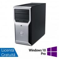 Calculator Dell Precision T1600, Intel Core i3-2100 3.10GHz, 4GB DDR3, 320GB SATA, DVD-ROM + Windows 10 Pro Calculatoare