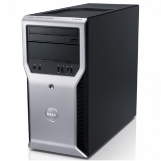 Calculator Dell Precision T1600, Intel Core i3-2100 3.10GHz, 4GB DDR3, 320GB SATA, DVD-ROM Calculatoare