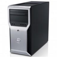 Workstation Dell Precision T1600, Intel Xeon Quad Core E3-1245 3.30GHz - 3.70GHz, 8GB DDR3, 500GB HDD,  Intel Integrated HD P3000, DVD-RW Calculatoare