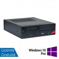 Calculator Fujitsu E520, Intel Core i5-4570s 2.90GHz, 4GB DDR3, 500GB SATA, DVD-ROM + Windows 10 Pro Calculatoare