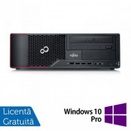 Calculator FUJITSU SIEMENS E710 Desktop, Intel Celeron G1610 2.60GHz, 4GB DDR3, 250GB SATA, DVD-RW + Windows 10 Pro Calculatoare