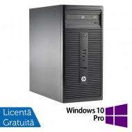 Calculator HP 280 G1 Tower, Intel Core i5-4570S 2.90GHz, 4GB DDR3, 500GB SATA, DVD-RW + Windows 10 Pro Calculatoare