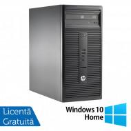 Calculator HP 280 G1 Tower, Intel Core i5-4570S 2.90GHz, 4GB DDR3, 500GB SATA, DVD-RW + Windows 10 Home Calculatoare