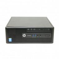 Calculator HP 400 G2.5 SFF, Intel Celeron G1850 2.90GHz, 4GB DDR3, 500GB SATA, DVD-RW Calculatoare