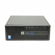 Calculator HP 400 G2.5 SFF, Intel Core i5-4570s 2.90GHz, 4GB DDR3, 500GB SATA, DVD-RW