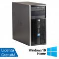 Calculator HP 6005 Pro Tower, AMD Athlon II X2 220 2.80GHz, 4GB DDR3, 250GB SATA, DVD-RW + Windows 10 Home