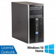 Calculator HP 6005 Pro Tower, AMD Athlon II X2 220 2.80GHz, 4GB DDR3, 500GB SATA, nVidia Pegatron GT310DP, DVD-RW + Windows 10 Home Calculatoare