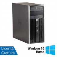 Calculator HP Compaq 6305 Tower, AMD A4-5300B 3.40GHz, 4GB DDR3, 250GB SATA, DVD-ROM + Windows 10 Home Calculatoare