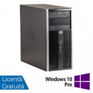 Calculator HP Compaq 6305 Tower, AMD A4-5300B 3.40GHz, 4GB DDR3, 250GB SATA, DVD-ROM + Windows 10 Pro Calculatoare