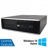 Calculator HP 8100 SFF, Intel Core i3-540 3.06GHz, 4GB DDR3, 320GB SATA, DVD-RW + Windows 10 Home Calculatoare