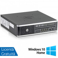 Calculator HP 8300 Elite USDT, Intel Core i3-3220 3.30GHz, 4GB DDR3, 160GB SATA, DVD-ROM + Windows 10 Home Calculatoare