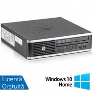 Calculator HP 8300 Elite USDT, Intel Core i3-3220 3.30GHz, 8GB DDR3, 120GB SSD, DVD-ROM + Windows 10 Home Calculatoare
