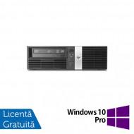 Calculator HP RP5800 SFF, Intel Core i3-2120 3.30GHz, 4GB DDR3, 250GB SATA, DVD-RW, 2 Porturi Com + Windows 10 Pro Calculatoare