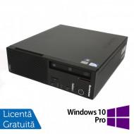 Calculator LENOVO Edge E71 SFF, Intel Pentium G840 2.80GHz, 4GB DDR3, 250GB SATA, DVD-RW + Windows 10 Pro Calculatoare