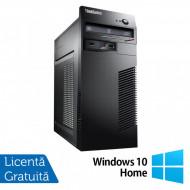 Calculator Lenovo M79 Tower, AMD A4-6300B 3.70GHz, 4GB DDR3, 250GB SATA, DVD-RW + Windows 10 Home Calculatoare