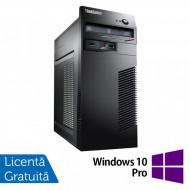 Calculator Lenovo M79 Tower, AMD A4 PRO-7300B 3.80GHz, 4GB DDR3, 250GB SATA, DVD-RW + Windows 10 Pro Calculatoare