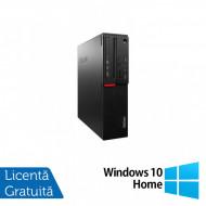 Calculator LENOVO M700 SFF, Intel Core i3-6100 3.70GHz, 4GB DDR4, 500GB SATA + Windows 10 Home Calculatoare