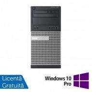 Calculator DELL Optiplex 9020 Tower, Intel Core i7-4770 3.40GHz, 4GB DDR3, 250GB SATA, DVD-ROM + Windows 10 Pro Calculatoare