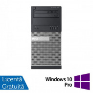 Calculator DELL Optiplex 9020 Tower, Intel Pentium G3220 3.00GHz, 4GB DDR3, 250GB SATA, DVD-ROM + Windows 10 Pro Calculatoare