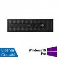 Calculator HP Prodesk 600G1 SFF, Intel Core i3-4160 3.60GHz, 4GB DDR3, 500GB SATA + Windows 10 Pro Calculatoare
