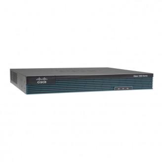 Router Cisco 1921/K9 cu 2 onboard GE, 2 EHWIC slots, 256MB USB Flash (internal) 512MB DRAM Servere & Retelistica