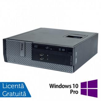 Calculator DELL 3010 SFF, Intel Core i3 3220 3.30GHz, 4GB DDR3, 250GB SATA, DVD-ROM + Windows 10 Pro Calculatoare