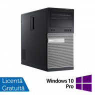Calculator DELL OptiPlex 7020 Tower, Intel Core i5-4590 3.30GHz, 8GB DDR3, 500GB SATA, DVD-RW + Windows 10 Pro