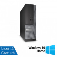 Calculator DELL Optiplex 3020 SFF, Intel Pentium G3220 3.00GHz, 4GB DDR3, 500GB SATA, DVD-RW + Windows 10 Home Calculatoare