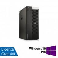 Workstation DELL Precision T5810, Intel Xeon Octa Core E5-2630L V3 1.80GHz - 2.90GHz, 32GB DDR4 ECC, 240GB SSD + 1TB HDD SATA, nVidia Quadro K2000 2GB GDDR5 + Windows 10 Pro Calculatoare
