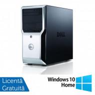Workstation Dell Precision T1500, Intel Quad Core i7-870 2.93GHz - 3.60GHz, 8GB DDR3, 500GB HDD, AMD FirePro V3900 1GB, DVD-RW + Windows 10 Home Calculatoare