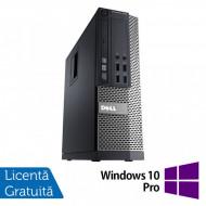 Calculator DELL 3020 SFF, Intel Core i5-4590 3.30GHz, 8GB DDR3, 500GB SATA, DVD-RW + Windows 10 Pro Calculatoare