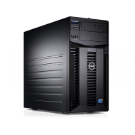 Server Dell PowerEdge T310 Tower, Intel Quad Core Xeon X3430 2.4 GHz-2.8GHz, 8GB DDR3 ECC Reg, 2x 1TB SATA, Raid Controller H200, idrac 6 Enterprise, 2x LAN Gigabit, 2x Surse HOT SWAP Servere & Retelistica