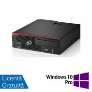 Calculator Fujitsu Esprimo D556 Desktop, Intel Pentium G4500 3.50GHz, 4GB DDR3, 500GB SATA, DVD-RW + Windows 10 Pro Calculatoare