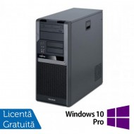 Fujitsu CELSIUS W280, Intel Core i3-530 2.93Ghz, 4Gb DDR3, 250Gb SATA, DVD-RW + Windows 10 Pro Calculatoare