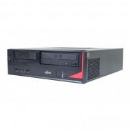 Calculator Fujitsu E420 Desktop, Intel Core i5-4460 3.20GHz, 8GB DDR3, 120GB SSD, DVD-RW Calculatoare