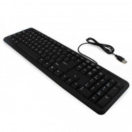 Tastatura cu fir, USB, format US, diverse modele brand, second hand Componente & Accesorii