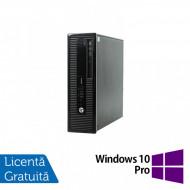 Calculator HP 400 G1 SFF, Intel Core i7-4770 3.40GHz, 8GB DDR3, 120GB SSD, DVD-RW + Windows 10 Pro Calculatoare