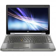Laptop HP EliteBook 8560w Mobile Workstation, Intel Core i7-2670QM 2.20GHz, 8GB DDR3, 240GB SSD, NVIDIA Quadro 1000M, DVD-RW, 15.6 Inch Full HD, Webcam, Tastatura Numerica, Baterie Consumata Laptopuri