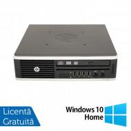 Calculator HP 8200 Elite, Intel Core i5-2400S 2.50GHz, 8GB DDR3, 320GB SATA + Windows 10 Home Calculatoare