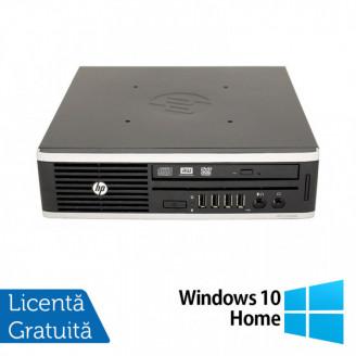 Calculator HP 8200 Elite, Intel Core i3-2100 3.10GHz, 4GB DDR3, 320GB SATA + Windows 10 Home Calculatoare