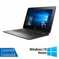 Laptop HP ProBook x360 11 G1, Intel Celeron N3350 1.10GHz, 4GB DDR3, 120GB SSD, TouchScreen, Webcam, 11 Inch + Windows 10 Home Laptopuri