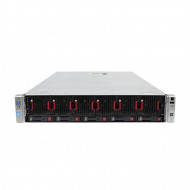 Server HP ProLiant DL560 G8 2U, 4 x CPU Intel Hexa Core Xeon E5-4610 2.40GHz - 2.90GHz, 128GB DDR3 ECC, 2 X SSD 240GB, Raid P420i/1GB, iLO4 Advanced, 4 Port xGigabit, 2x Surse Hot Swap Servere & Retelistica