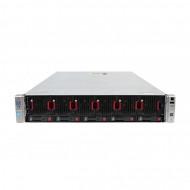 Server HP ProLiant DL560 G8 2U, 4 x CPU Intel Hexa Core Xeon E5-4610 2.40GHz - 2.90GHz, 768GB DDR3 ECC, 3 X SSD 480GB + 2 x HDD 1.2TB SAS/10k, Raid P420i/1GB, iLO4 Advanced, 4 Port xGigabit, 2x Surse Hot Swap Servere & Retelistica