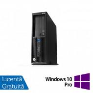 Workstation HP Z230 SFF, Intel Xeon Quad Core E3-1231 v3 3.40GHz-3.80GHz, 16GB DDR3, 1TB SATA, DVD-RW, nVidia Quadro K620/2GB + Windows 10 Pro Calculatoare