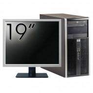 Calculator HP 6200 Tower, Intel Core i3-2100 3.10GHz, 4GB DDR3, 250GB SATA, DVD-ROM + Monitor 19 Inch (Top Sale!) Calculatoare