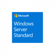 Windows Server Standard 2019, 64Bit, English, 1pk DSP OEI, DVD, 16 Core Software & Diverse