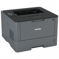 Imprimanta Laser Monocrom Brother HL-L5100DN, Duplex, A4, 40ppm, 1200 x 1200, USB, Retea, Toner si Unitate Drum Noi Imprimante