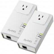 Kit adaptor PowerLine ZyXEL PLA407 HomePlug, 200 Mbps Software & Diverse