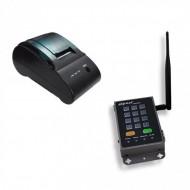 Kit Wireless de Imprimare Etichete 4IPNET, Imprimanta Termica PRT100 + SDS200W, 52mm/sec, 802.11 b/g/n POS & Supraveghere