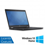 Laptop DELL Latitude E5250, Intel Core i5-5300U 2.30GHz, 8GB DDR3, 500GB SATA, 13 Inch + Windows 10 Home Laptopuri